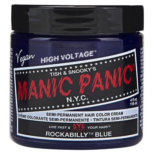 High Voltage Classic Cream Formula Rockabilly Blue Hair Color