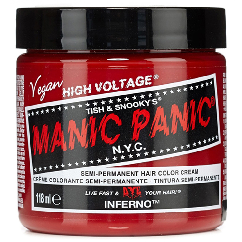 High Voltage Classic Cream Formula Inferno Hair Color