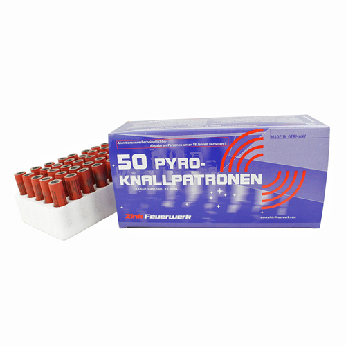 Pyro Scare 15mm Cartridges 50rds