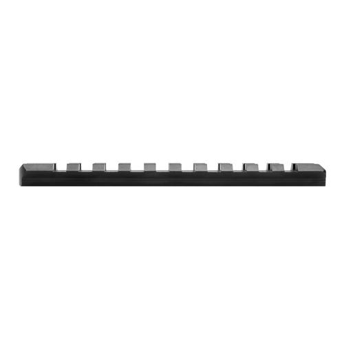 10/22 Receiver Picatinny Black Rail