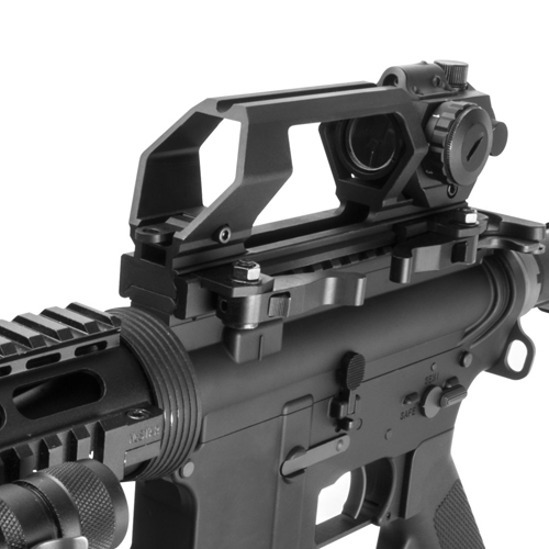 Gen 2 Quick Release AR15 Carry Handle and VDGRLB Dot Sight
