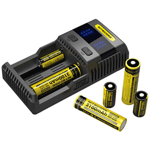 Nitecore SC2 Fast Battery Charger
