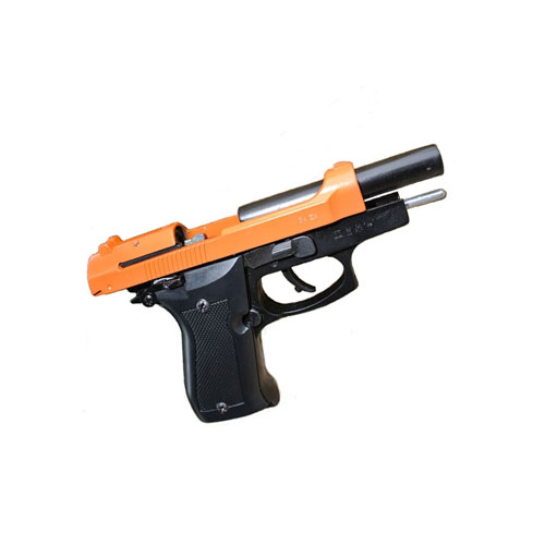 Kimar Mod. 85 Front firing 8mm P.A.K. Blank Orange slide Pistol