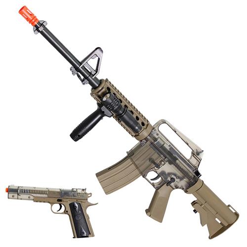 M4/A1 RIS Spring Rifle & gun On-Duty Kit