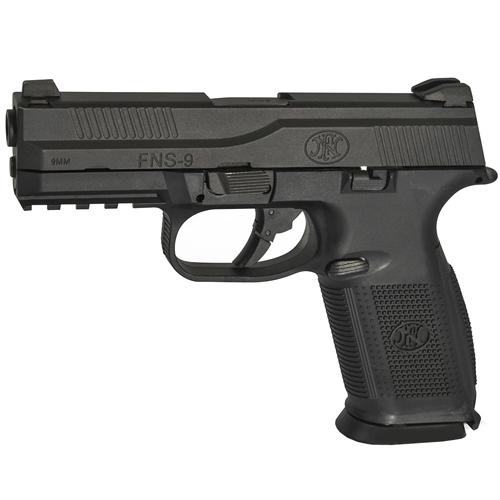 Smith & Wesson M & P CO2 gun Full Black Plastic Box