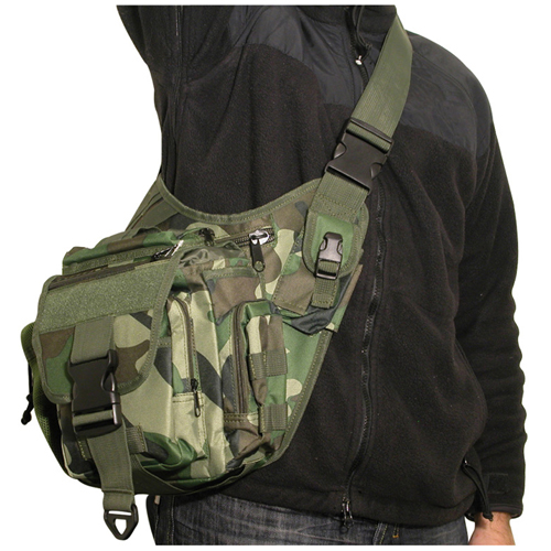 Swiss Arms Saddle Green Camo Off Duty Bag