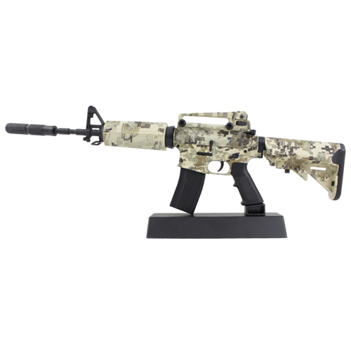 M4A1 Digital Camo Diecast 1:4 Scale Rifle Model