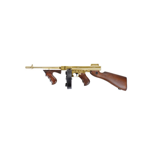 King Arms M1928 HI Grade Gold Thompson Airsoft Rifle