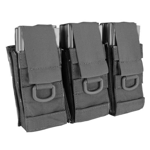 Black Owl Gear / Phantom Aggressor Molle Ready M4 AK MP5 Triple Magazine Pouch