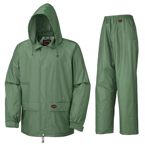 Polyester/PVC Rain Suit