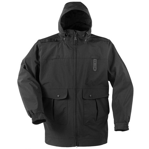 Propper LAPD Navy Defender Gamma Long Rain Duty Jacket with Drop Tail