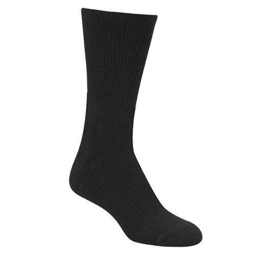 Black 9 Inch Crew Sock
