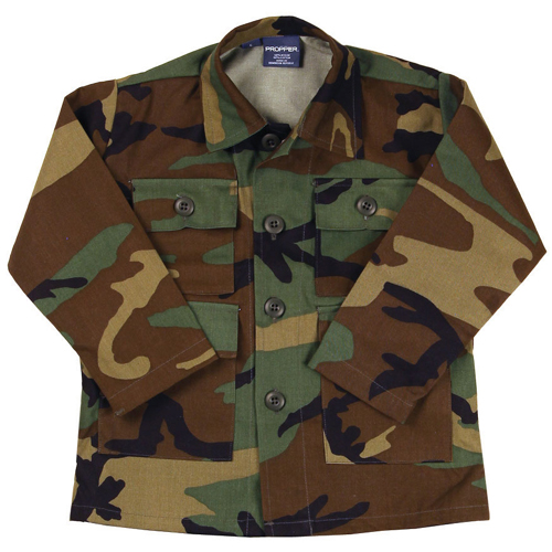 Kid's Woodland BDU Coat