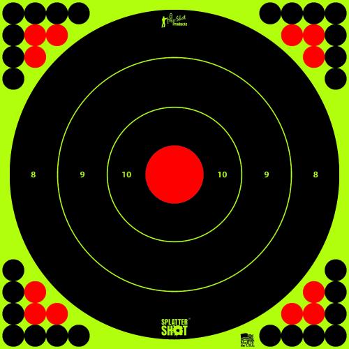 17.25 Inch Bullseye Target (Pack of 5)