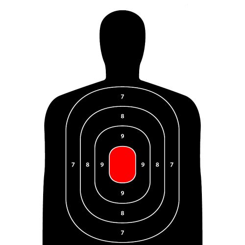 12x18 Inch Silhouette Target Paper