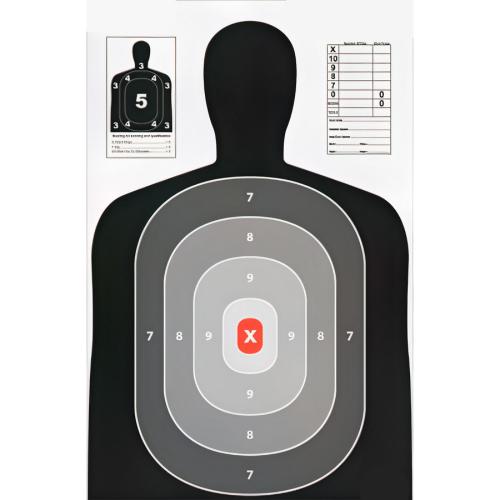 23x35 Inch B27 Silhouette Target