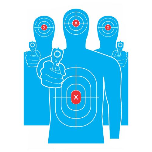 13x20 Inch Tactical Target 6 Pack
