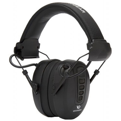 VG-Clandestine Electronic Black Earmuff