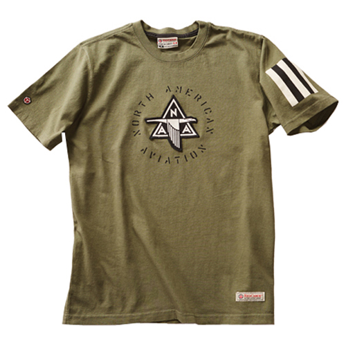 NAA Applique T-Shirt - Khaki