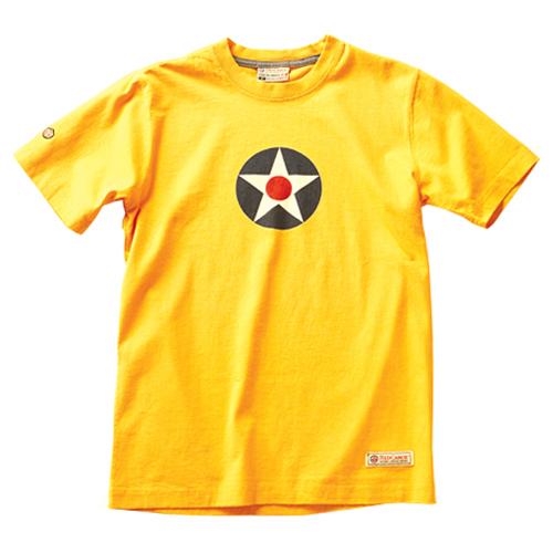 US Roundel T-Shirt - Burnt Yellow