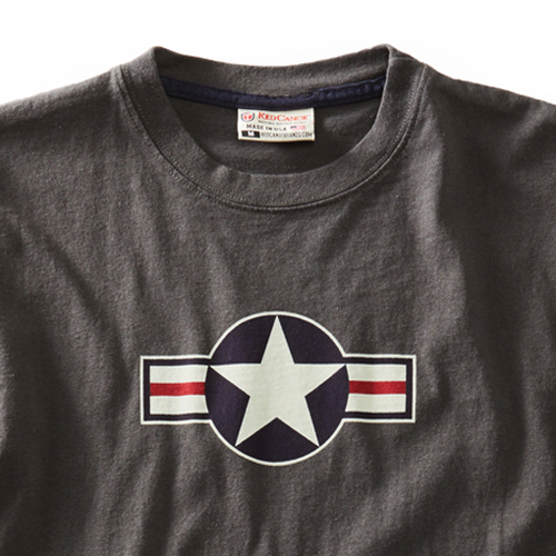 Men USAF T-Shirt - Slate