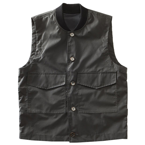 Men Stylish Flight Vest - Charcoal