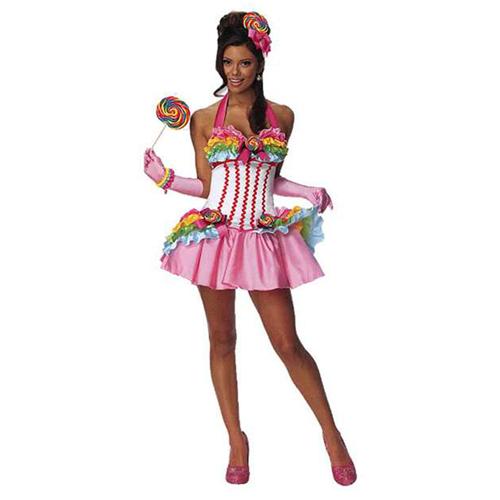 Rubies Womens Lollipop Costumes