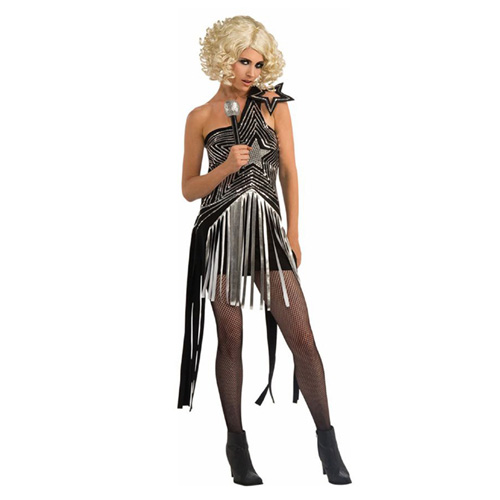 Rubbies Lady Gaga Star Dress