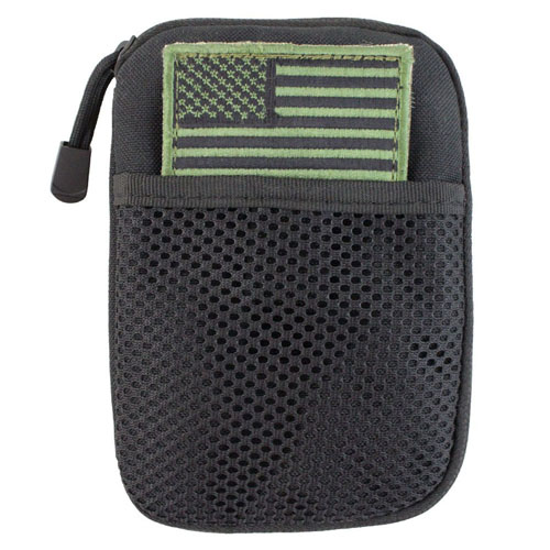 Pocket Pouch with American Flag Patch