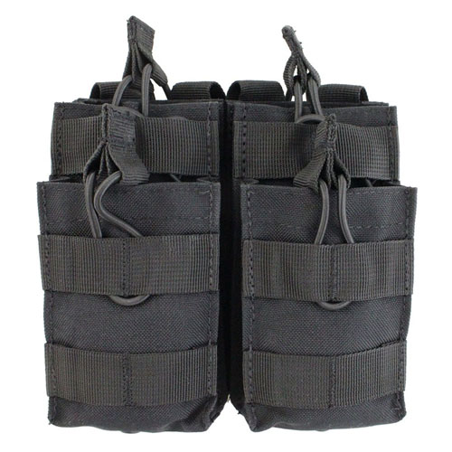 Open Top Double Stacker M14/M16 Mag Pouch