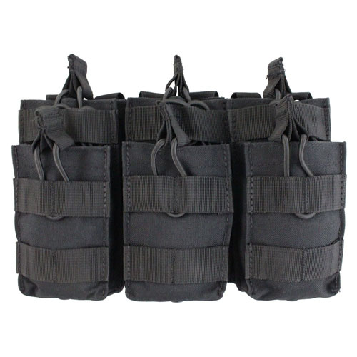 Open Top Triple Stacker M14/M16 Mag Pouch