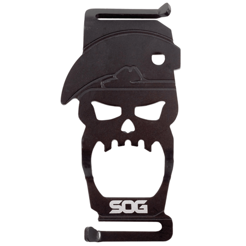 Bite MACV Skull Logo Bottle Opener
