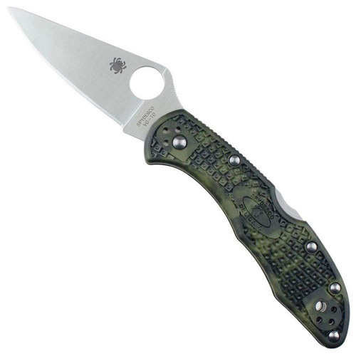 Spyderco Delica 4 Black FRN Handle Folding Knife