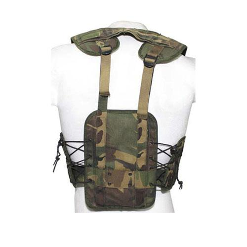 Camouflage Dutch Load Bearing Vest Used