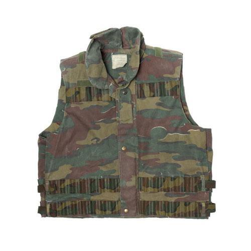 Belgium Camo Modular Vest Used