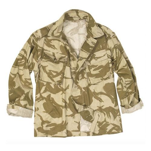 British Desert Camo Field Shirt Used