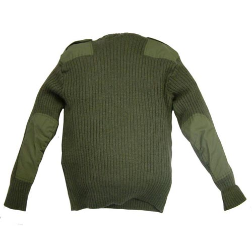 Commando Crew Neck Wool Sweater