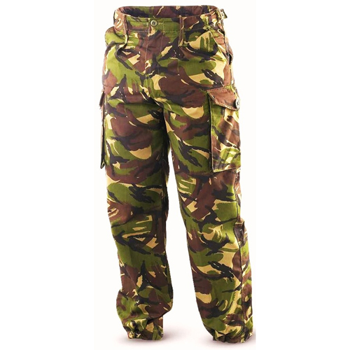 British DPM Camo Temperate Used Field Pants