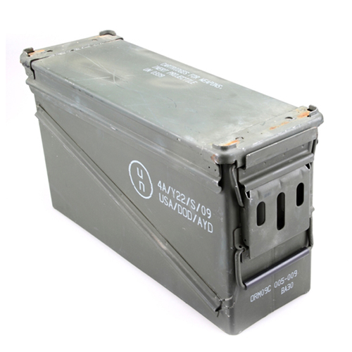 Ammo Can 40mm With Rubber O-ring Seal