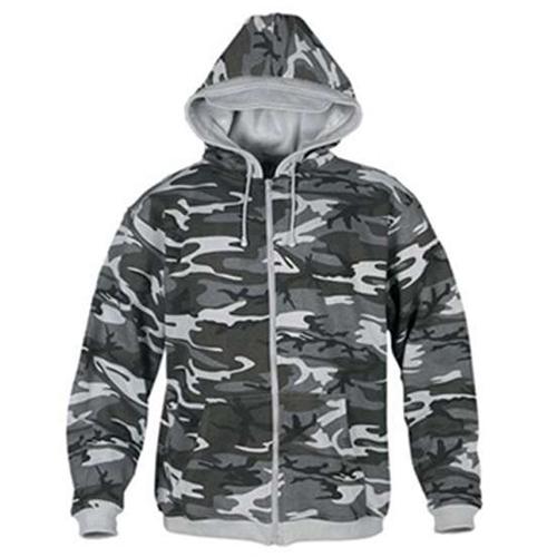 Camouflage Zip Hoody