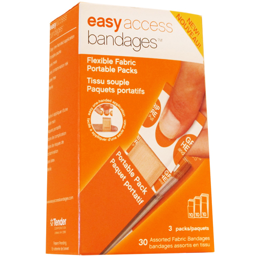Easy Access Bandages Flexible Fabric