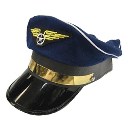 Airplane Pilot Costume Hat