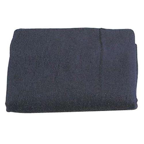 Wool 62 Inch X 80 Inch Blanket - Navy Blue