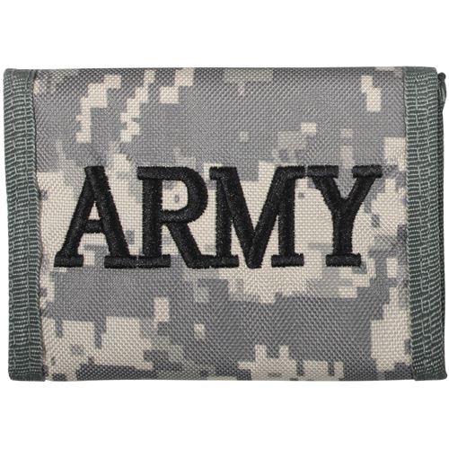 Camo Commando Wallet With Army Embroidery