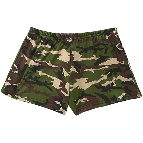 Womens Camo Hot Shorts