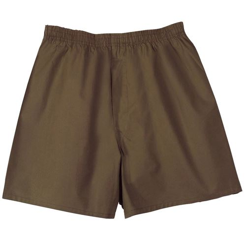 Ultra Force GI Type Mens Brown Boxer Shorts