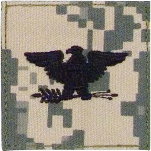 Ultra Force ACU Digital Camo Colonel Lieutenant Embroidered Rank Insignia