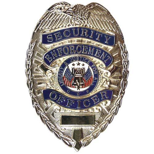 Deluxe Security Enforcement Officer Badge