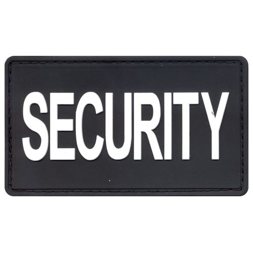 PVC Security Patch With Hook Back