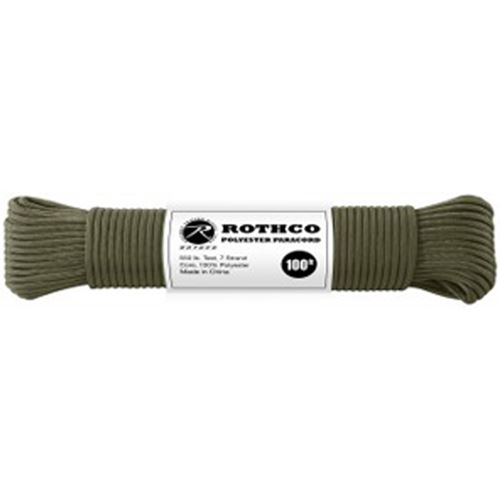 50 Feet Polyester Paracord